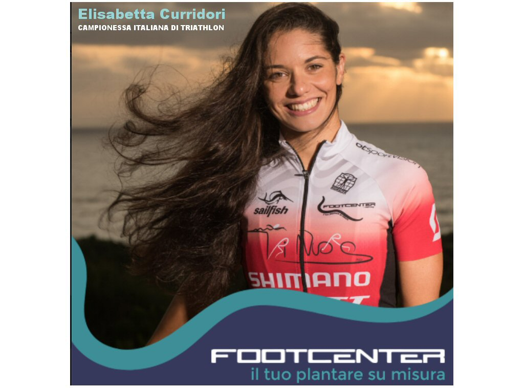 ELISABETTA CURRIDORI Campionessa Triathlon indossa i Plantarii su Misura FootCenter